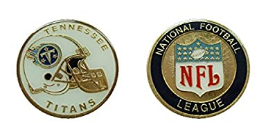 Tennessee Titans Collectible NFL Challenge Coin Logo Poker / Lucky Chips & Gift