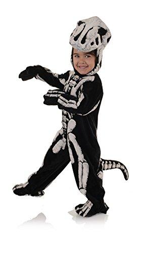 [Children's T-Rex Dinosaur Fossil Skeleton Costume XL] (Warm Halloween Costumes For Kids)