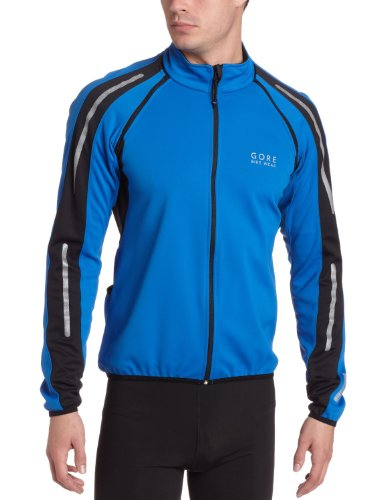 Gore Bike Wear Mens Phantom II Jacket - Azur Blue/Black, Small