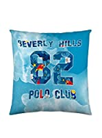 BEVERLY HILLS POLO CLUB Funda De Cojín Logan (Azul)