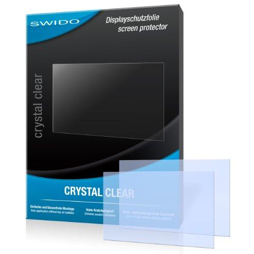 SWIDO Y023176 kristallklar hartbeschichtet Displayschutzfolie für Canon Powershot SX260 HS/SX260HS/SX-260 HS (2-er Pack)