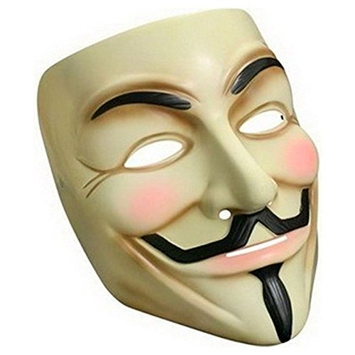 V for Vendetta Mask Half Face Mask Masquerade Men Movie Theme V For Vendetta Mask