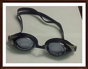 Aryca - * Prescription Swimming Goggles* (-6.0) Color Black