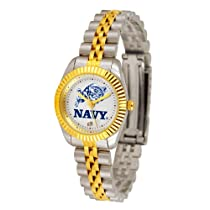 "Navy Midshipmen NCAA ""Executive"" Ladies Watch"
