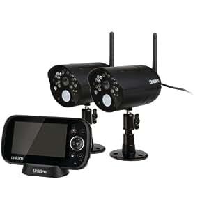 Uniden UDR444 Guardian 4.3-Inch Video Surveillance System with 2 Cameras (UDR444)