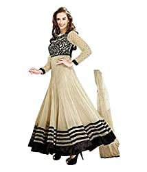 Madhav FashionSemi-stitched Salwar Suit Dupatta Material in Off White