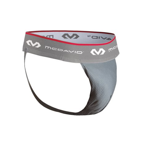 McDavid 3300 Adult Performance Hexmesh Supporter with Flex Cup, Large