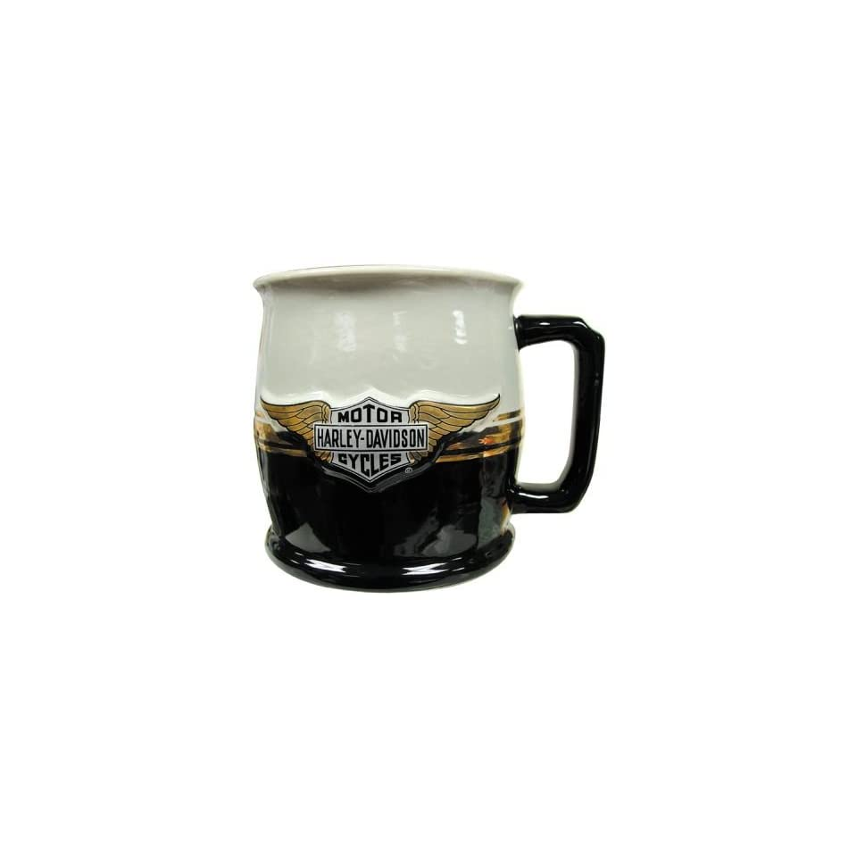 Harley Davidson Bar & Shield Logo w/ Wings Ceramic Mug