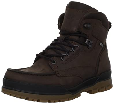 ECCO Men's Track 6 GTX Moc Toe Boot,Cocoa Brown,43 EU/9-9.5 M US