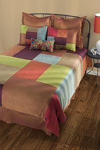 Rizzy Home BT-787K Maresca 8-Piece Comforter Set, King