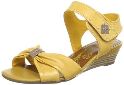 Jana 8-8-28304-20, Sandales femme - Jaune (Lemon 607), 41 EU