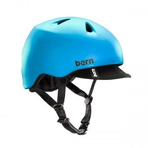 BERN Nino Adjustable Summer Helmet with Visor by Bern