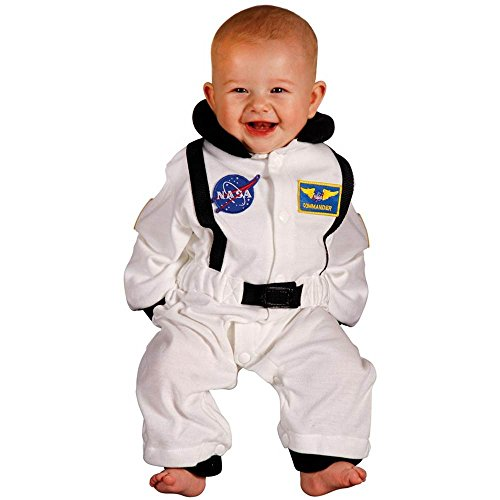Jr. Astronaut White Suit Infant Costume - 6-12 Months