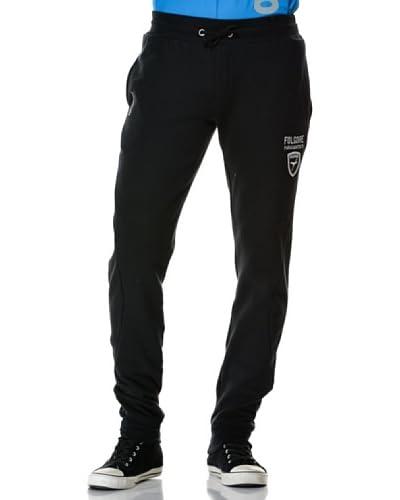 Esercito Italiano Pantalone Felpa [Nero]
