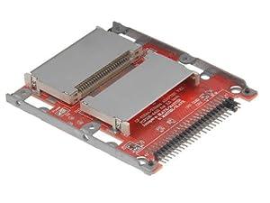 tinxi® 2 x Compact Flash / CF zu IDE/ATA 2,5 Zoll (6,35cm) Adapter / IDE-Adapter Dual 2 CompactFlash Compact Flash CF 2,5 Zoll (6,35cm) Controller 44-polig