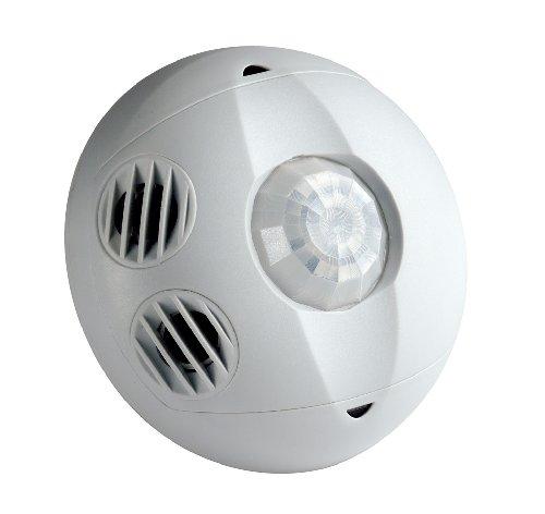 Leviton OSC05-M0W Ceiling Mount Occupancy Sensor, Multi-Technology, 180 Degree, 500 Square Feet Coverage, Self-Adjusting (White)