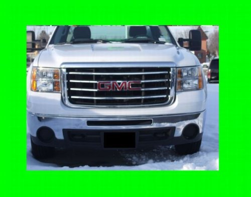 GMC SIERRA 2007-2010 CHROME GRILLE GRILL KIT 2008 07 08 09 10 2009 1500 2500 3500 SLT SLE Z71 DENALI (Gmc Grill 2010 compare prices)