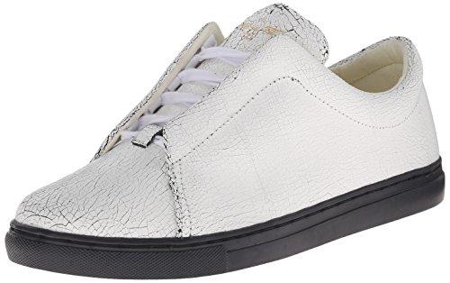 Creative Recreation Men's Turino Fashion Sneaker, White/Cracked, 10.5 M US