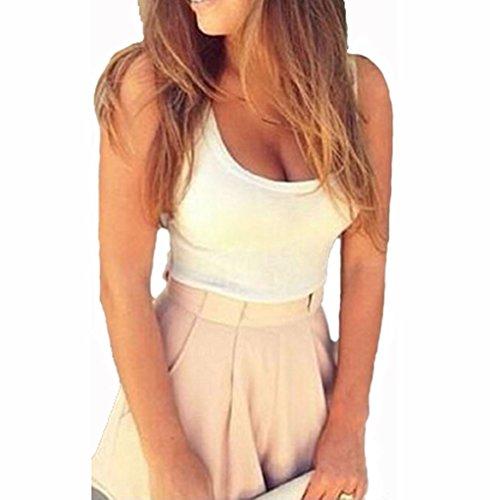 Womens Sexy Clubwear Vest Top & Short Romper Trousers Suit (M)