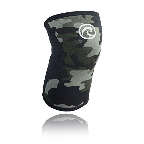Rehband, Tutore ginocchio in neoprene, Multicolore (Camouflage), S