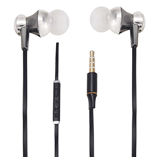 With Volume Control & MIC Function Designer Series & Comfort Fit Stereo Headset Handsfree Headphone Earphone 3.5 MM Jack for Oppo R1 R829 -Black  available at amazon for Rs.265