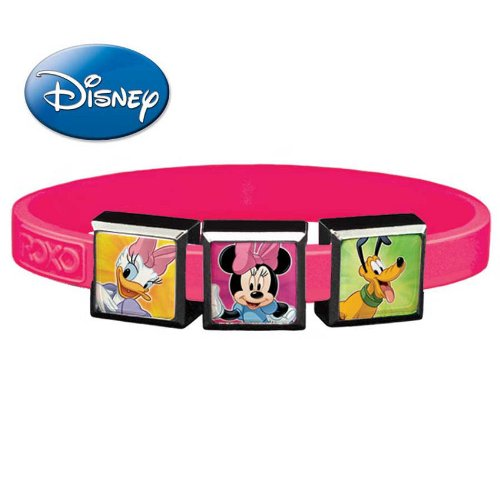Roxo Disney Classics 2 3-Charm Set with Small Party Pink Band - 1