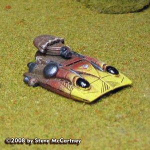 Iron Wind BattleTech: Fulcrum Hover Tank (2)
