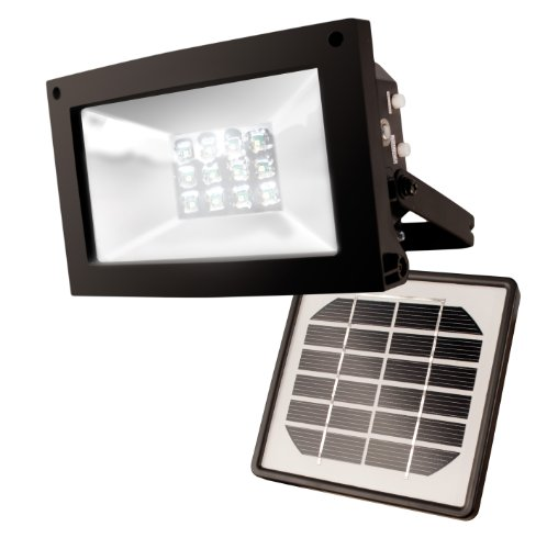 Maxsa 40330 Solar-Powered 10 Hour Floodlight (Large Solar Outdoor Light compare prices)