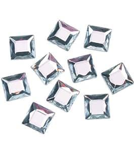 Darice(R) 12mm Square Rhinestones - 52PK/Crystal