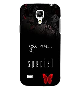 PrintDhaba Quote D-4420 Back Case Cover for SAMSUNG GALAXY S4 MINI (Multi-Coloured)
