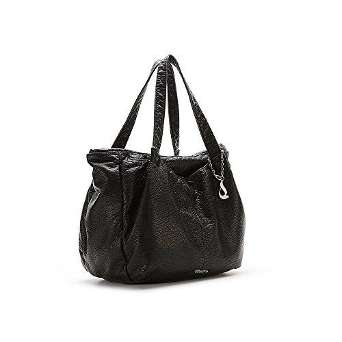 ABBACINO - Ss16 Abbacino Trendy Lavandou  / Black, Borsa A Spalla da donna, nero (black ), taglia unica