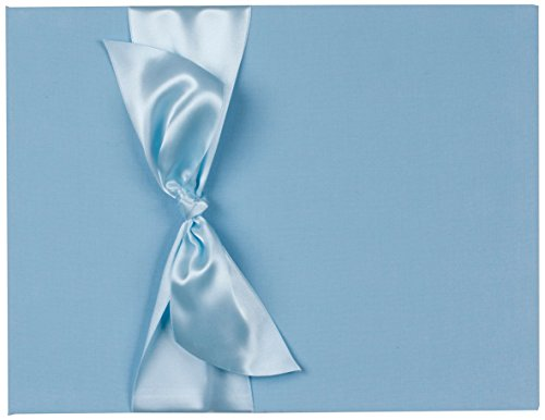 Tessera Baby Books Memory Book with Satin Ribbon, Blue
