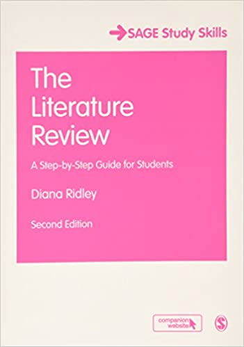 step by step process of writing a literature review