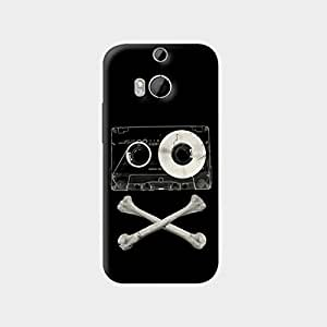 The Fappy Store pirate music hard plastic back case cover for htc one m8
