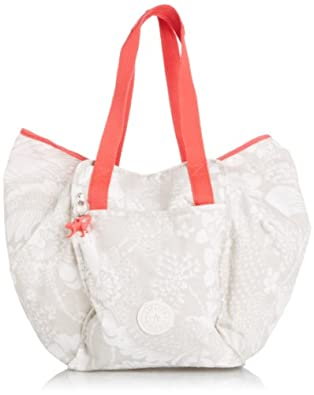 Kipling Women's Aqualicious Top-Handle Bag K12529B27 Tropic White SWT
