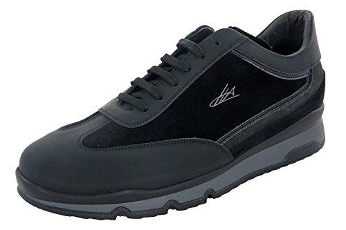 Ugo Arci - Sneakers - Ugo Arci Uomo - 810F/636/85NP - 44, Nero-Piombo