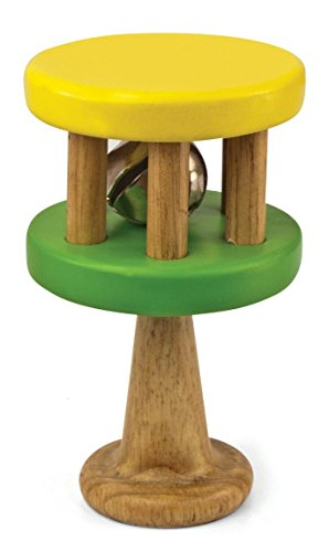Green Tones 3725 Handle Cage Bell