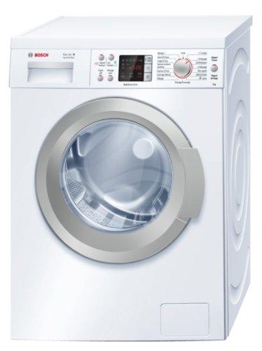 Bosch WAQ24483FF machine à laver - machines à laver (Autonome, Charge avant, A+++-30%, A, B, Blanc)