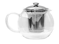 Glenburn Tea Direct Glass Tea Pot (600 ml)