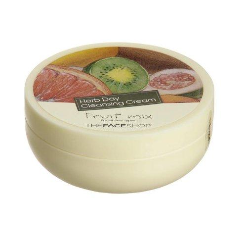 the-face-shop-herb-day-creme-nettoyante-fruit-mix-melange-de-fruits