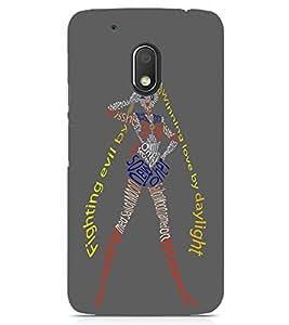 PRINTSWAG Designer GIRL Backcover For Motorola Moto G4 Play