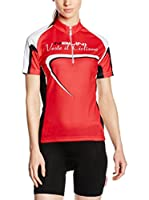 Nalini Maillot Ciclismo Sassolite (Rojo)
