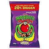 Mega Monster Munch Pickled Onion Flavoured Baked Corn Snack 48g x Case of 30