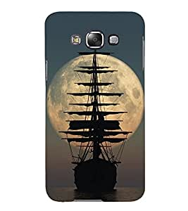 Sailing Boat 3D Hard Polycarbonate Designer Back Case Cover for Samsung Galaxy E7 :: Samsung Galaxy E7 E700F (2015)