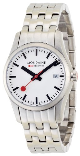 Mondaine Women's A629.30341.16SBM Retro Ladies Date Steel Band Watch