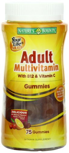 Nature's Bounty Your Life Multi Adult Gummies, 75-Count (Package may vary) (074312304217)