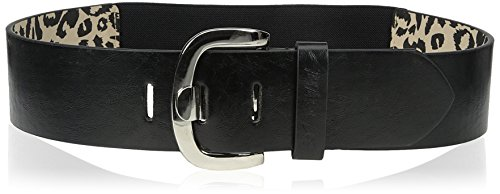 Cinturón Betsey Johnson Women's, Medium/Large, color negro, NP