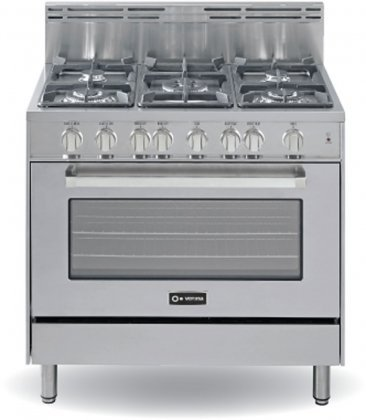 Verona-VEFSGG365SS-36-Freestanding-Gas-Range-with-5-Sealed-Burners-in-Stainless-Steel