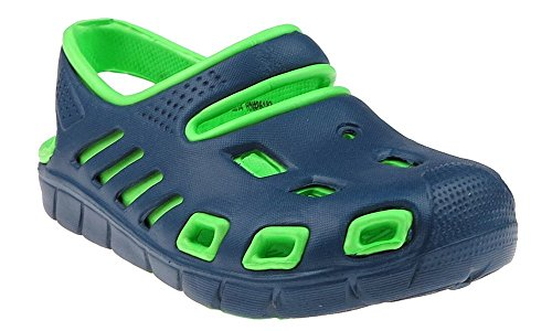 Capelli New York Toddler Boys Two Tone Injected Eva Closed Toe Sandal With Backstrap Navy 7 (Capelli New York Sandals compare prices)