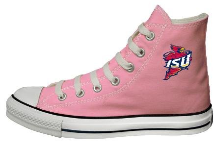 Buy Converse Chuck Taylor All Star Hi Top Pink Iowa State University Logo Canvas